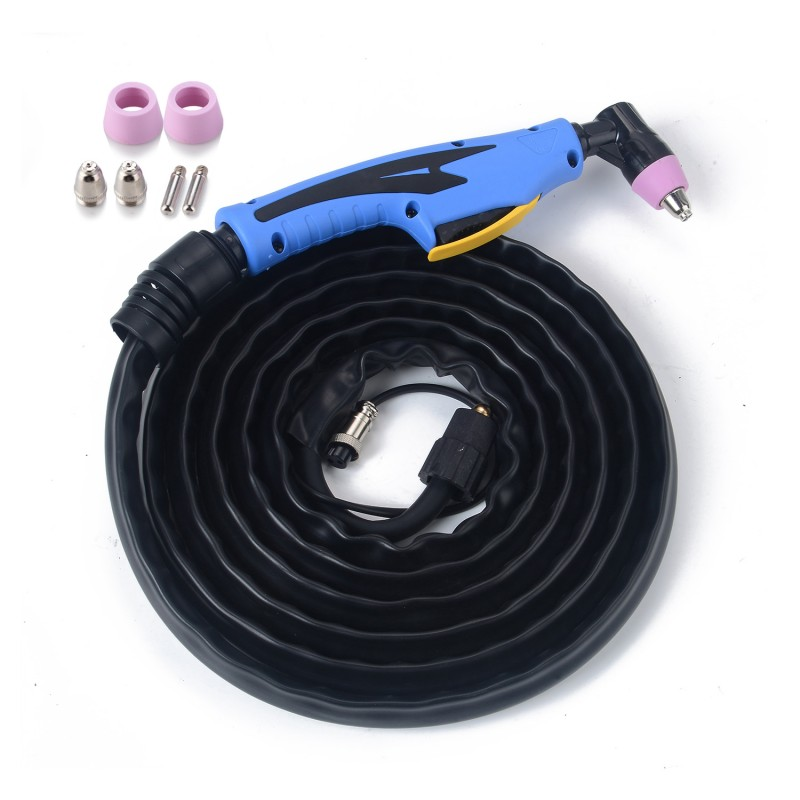 High Frequency Pilot Arc Welding AIR Plasma Cutter Straight Torch For SG55//AG60