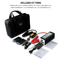AP-10 25200 mAh 12V & 24V Portable Car Jump Starter Booster Charger Battery Power Bank