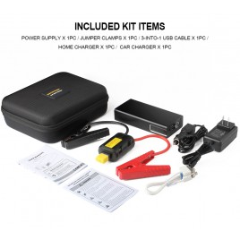 AP-6 11100 mAh Portable Car Jump Starter Booster Charger Battery Power Bank