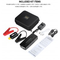 AP-7 13500 mAh Portable Car Jump Starter Booster Charger Battery Power Bank
