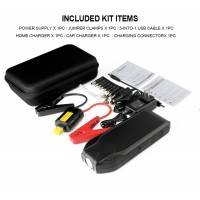 AP-8 19200 mAh Portable Car Jump Starter Booster Charger Battery Power Bank