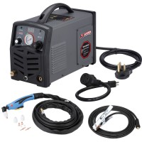 "APC-30, 30 Amp Plasma Cutter, 115/230V Dual Voltage Compact Metal Cutting Machine, 2/5"" Clean Cut."
