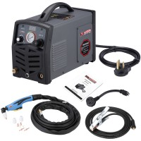 "APC-40, 40 Amp Plasma Cutter, 115/230V Dual Voltage Compact Metal Cutting Machine, 1/2"" Clean Cut."