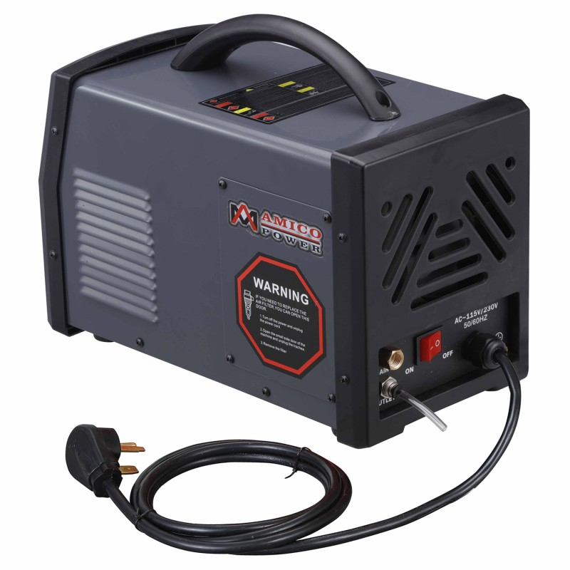 APC-40HF, 40 Amp Non-touch Pilot Arc Plasma Cutter, Professional 115/230V Dual Voltage Cutting Machine