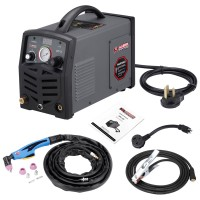 "APC-50, 50 Amp Plasma Cutter, 115/230V Dual Voltage Compact Metal Cutting Machine, 3/4"" Clean Cut."