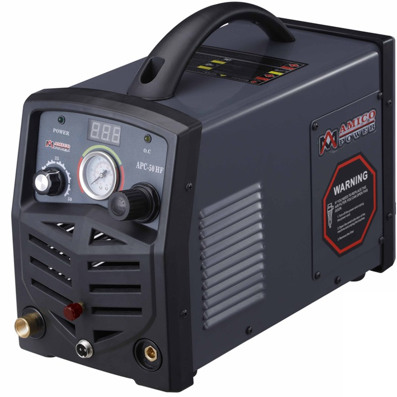 APC-50HF, 50 Amp Non-touch Pilot Arc Plasma Cutter, Professional 115/230V Dual Voltage Cutting Machine