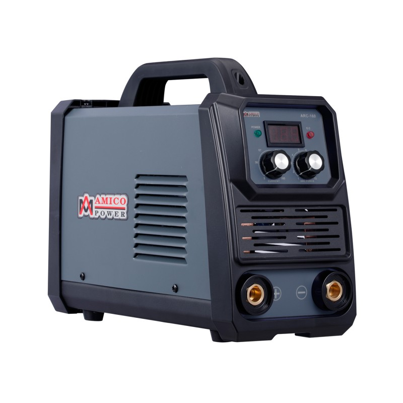 ARC-160, 160-Amp Stick Arc & Lift-TIG Combo Welder, 100-250V Wide Voltage, 80% Duty Cycle, Compatible with all Electrodes: E6010 E6011 E6013 E7014 E7018 etc.