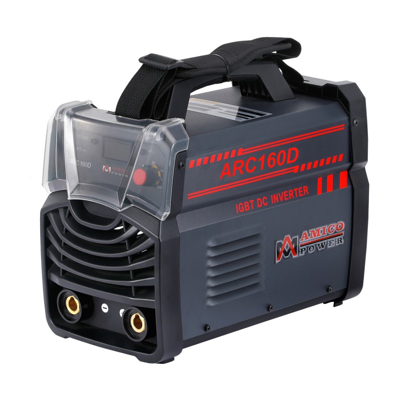 ARC-160D, 160 Amp Stick Arc MMA IGBT Inverter DC Welder, Digital Display LCD 115V & 230V Dual Voltage Welding Machine