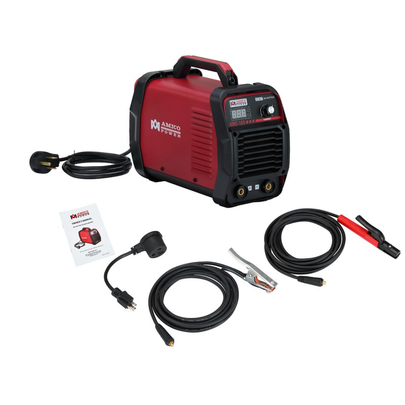 ARC-165, 160 Amp Stick Arc DC Welder 115/230V Dual Voltage IGBT Inverter Welding Machine