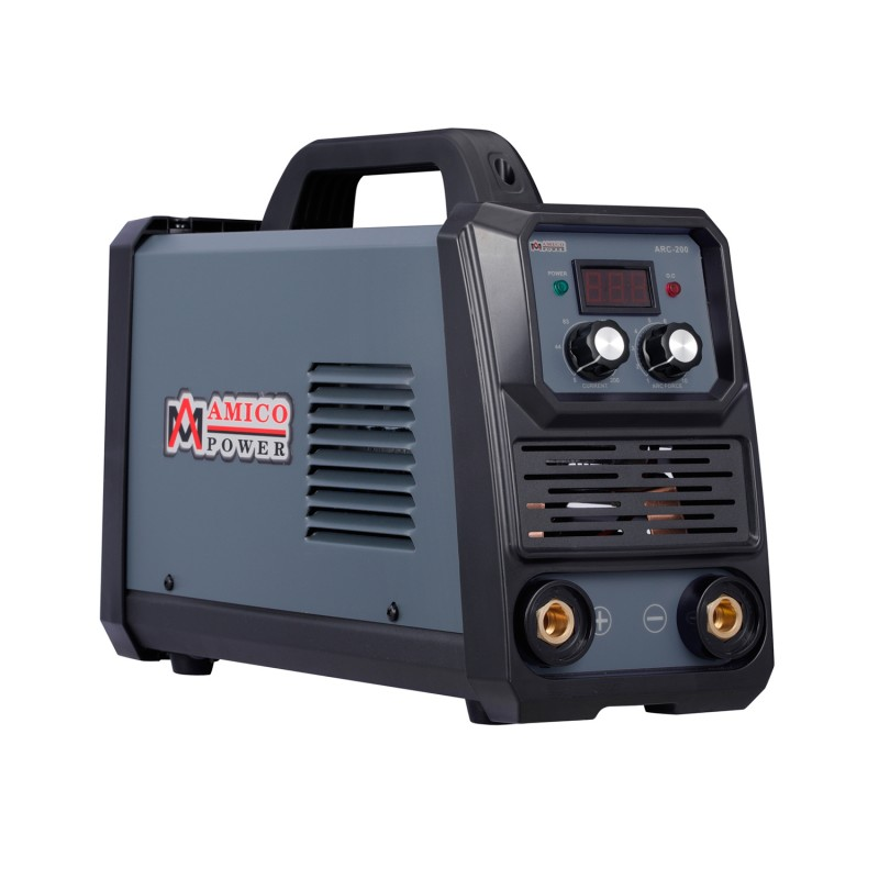 ARC-200, 200-Amp Stick Arc & Lift-TIG Combo Welder, 100-250V Wide Voltage, 80% Duty Cycle, Compatible with all Electrodes: E6010 E6011 E6013 E7014 E7018 etc.