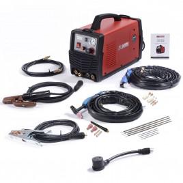 CTS-160, 30A Plasma Cutter, 160A TIG-Torch, 140A Stick Arc Welder, 115/230V Dual Voltage 3-in-1 Combo Welding