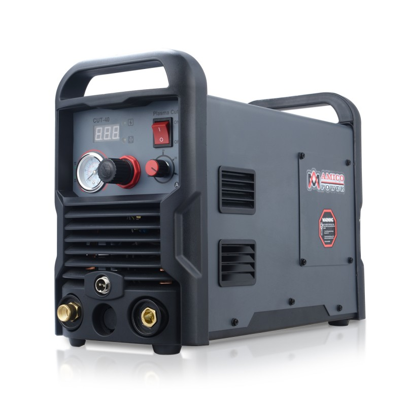 CUT-40, 40 Amp Plasma Cutter DC Inverter 110/230V Dual Voltage Cutting Machine