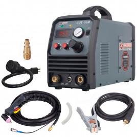CUT-55M, 55 Amp Arc Plasma Cutter, 3/5 inch Clean Cut, 95~260V Wide Voltage, DC Inverter Pro. Cutting Machine.