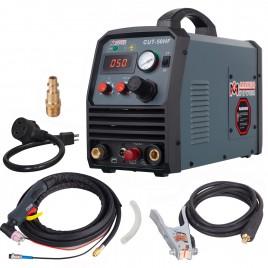 CUT-60HF, 60 Amp Non-touch Pilot Arc Plasma Cutter, 4/5 inch Clean Cut, 95~260V Wide Voltage, DC Inverter Pro. Cutting Machine