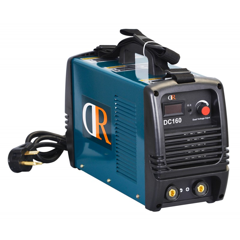 S160DR, 160 Amp Stick Arc MMA DC Inverter Welder 120/240V Dual Voltage Welding Machine