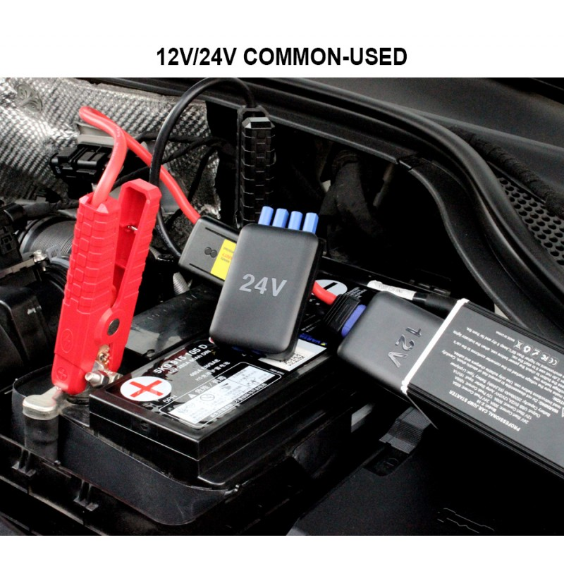 DR-10 30000 mAh 12V & 24V Portable Car Jump Starter Booster Charger Battery Power Bank