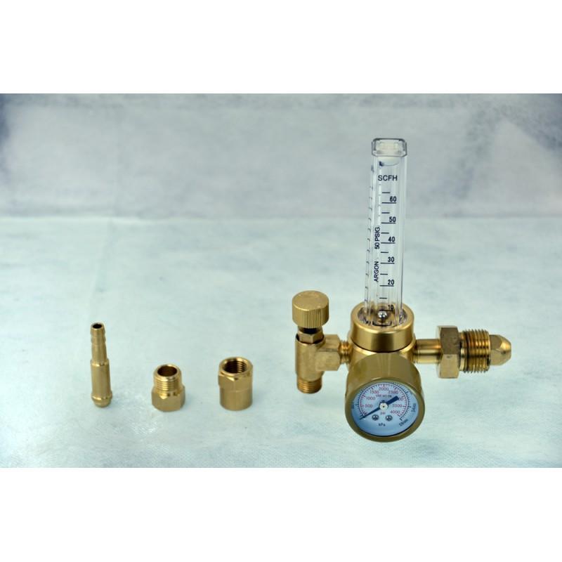 AGR-01 Argon Co2 Gas Regulator TIG MIG Welder Gauge Multifunction Connector