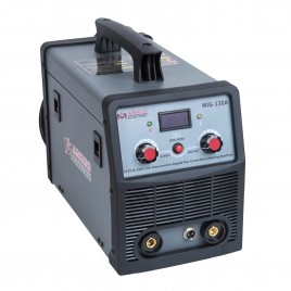 MIG-130A, 130 Amp MIG/Flux Core Wire Gasless Welder, 115/230V Dual Voltage, IGBT Inverter Welding Soldering Machine.