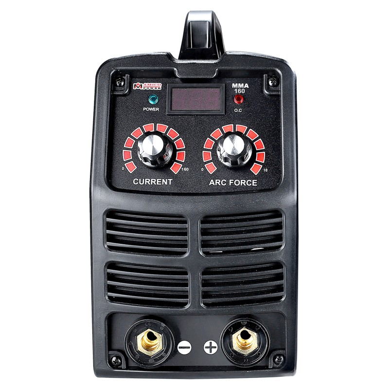MMA-160, 160 Amp Stick ARC DC Inverter Welder, IGBT Digital Display LCD 120V & 240V Dual Voltage Welding Machine