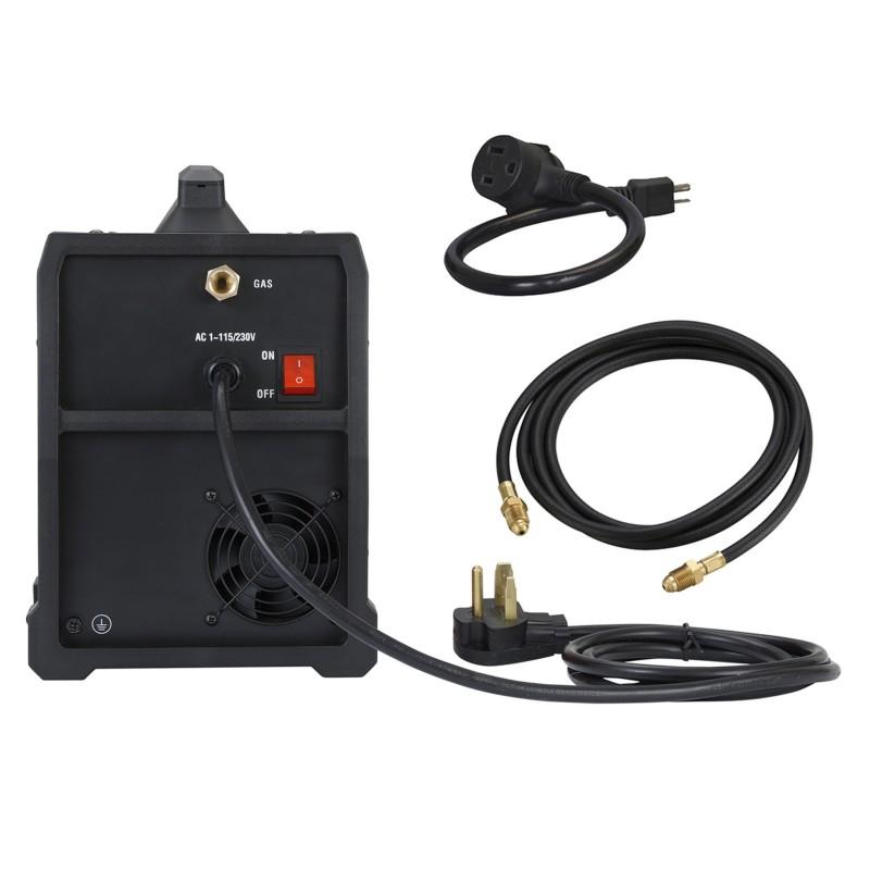 MTS-165, 165 Amp MIG/TIG/Stick Arc 3-in-1 Combo Welder, MIG Gun or Spool Gun can Weld Aluminum, 2T/4T Switch 115/230V Welding