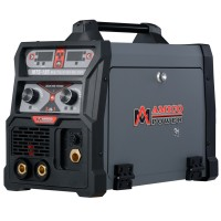 MTS-185, 185 Amp MIG/TIG/Stick Arc 3-in-1 Combo Welder, MIG Gun or Spool Gun can Weld Aluminum, 2T/4T Switch 115/230V Welding