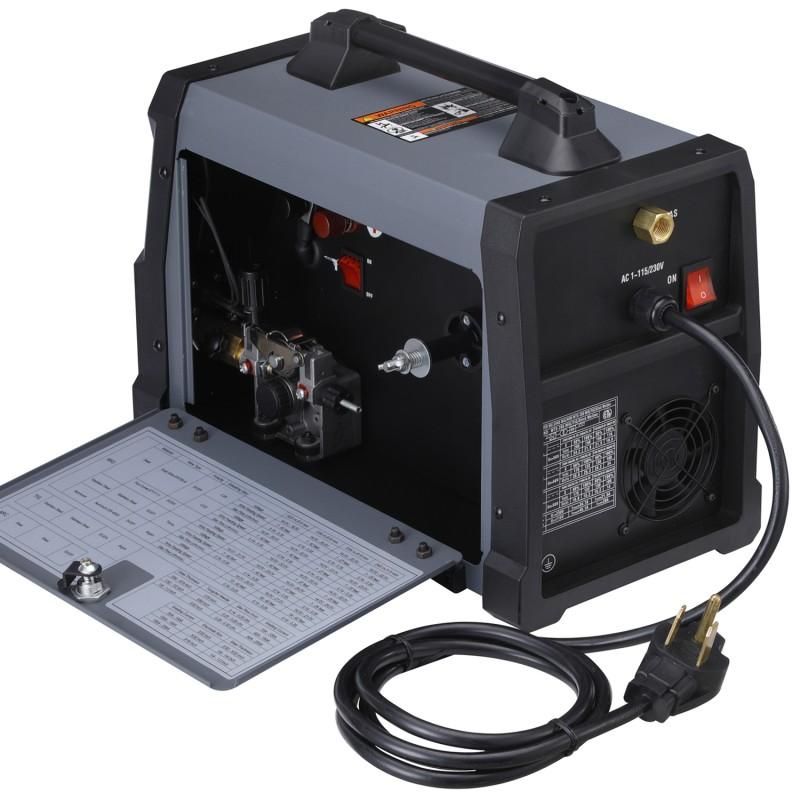 MTS-205, 205 Amp MIG/TIG/Stick Arc 3-in-1 Combo Welder, MIG Gun or