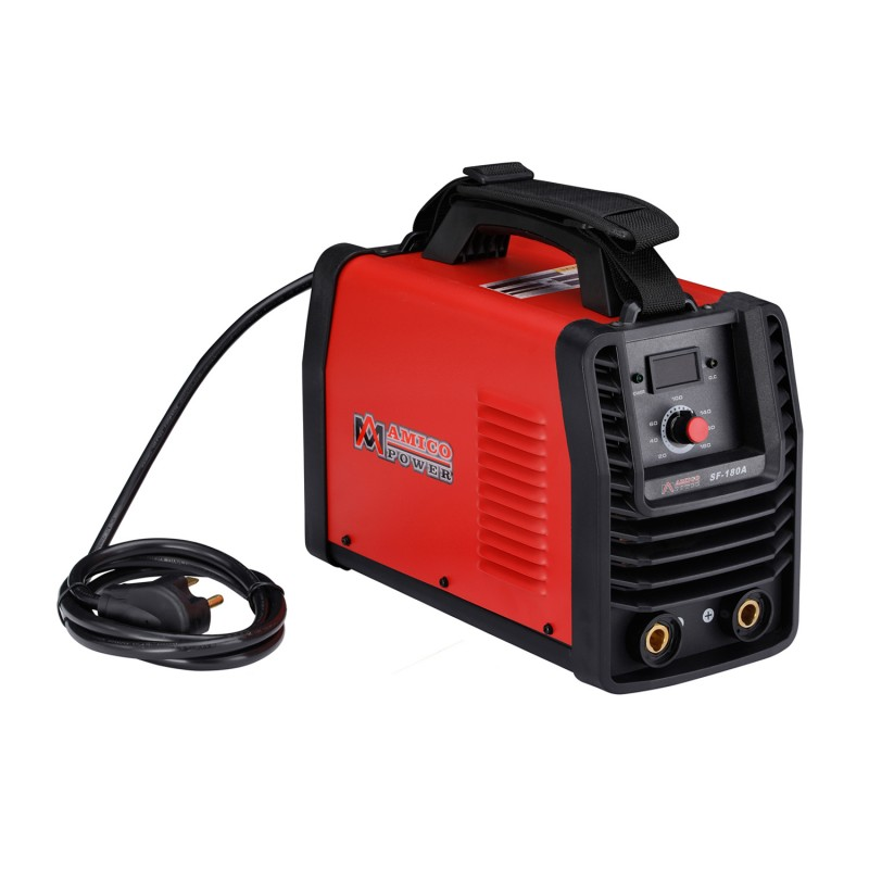 SF-180A, 180 Amp Stick ARC DC Inverter Welder, 110V & 230V Dual Voltage Welding