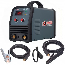 ST-185M, 185 Amp Stick ARC DC Inverter Welder, 95~260V Wide Voltage Welding, Professional Industrial Class Soldering Machine.