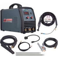 TIG-165HF, 160 Amp TIG Torch Stick Arc DC Inverter Welder, High Frequency & High Voltage 100% Start, 95~260V Wide Voltage Welding Machine.