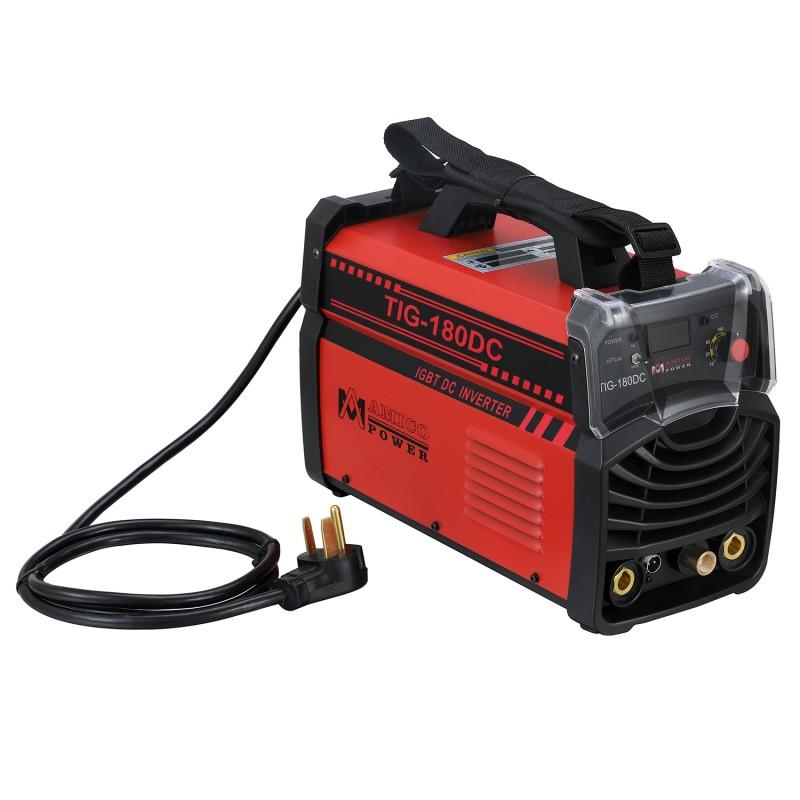 TIG-180DC 180 Amp TIG Torch/Stick/Arc DC Welder 115/230V Dual Voltage Inverter Welding Machine