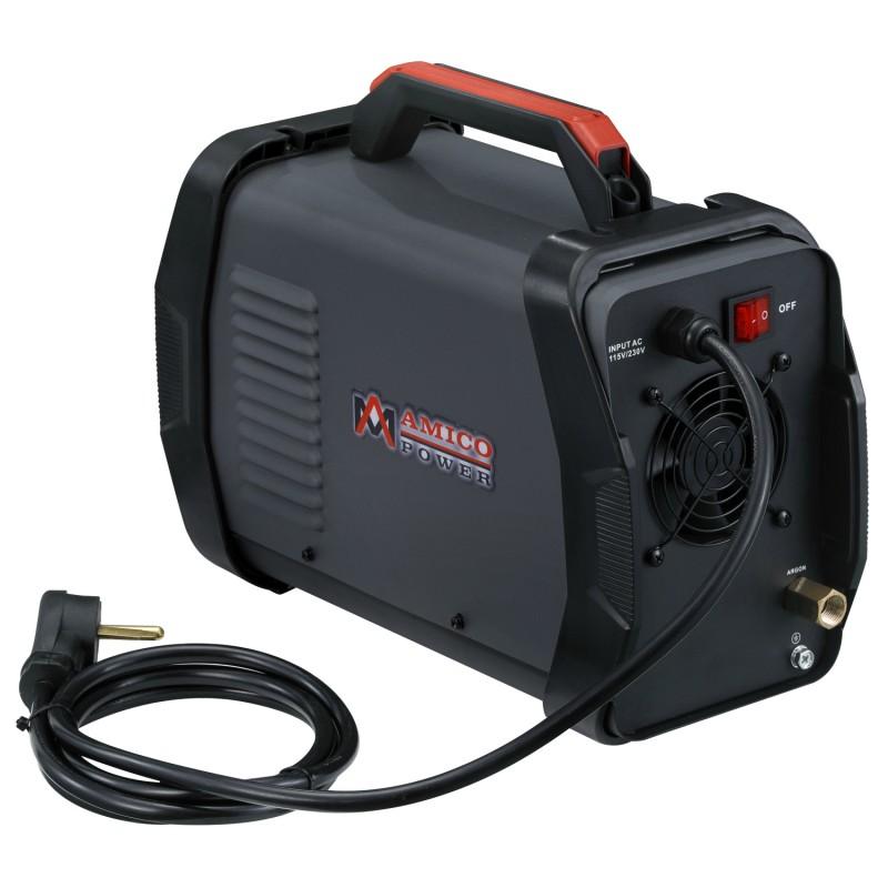 TIG-185 180 Amp High Frequency TIG Torch/Stick/Arc DC Welder 115 & 230V Dual Voltage Welding Michine