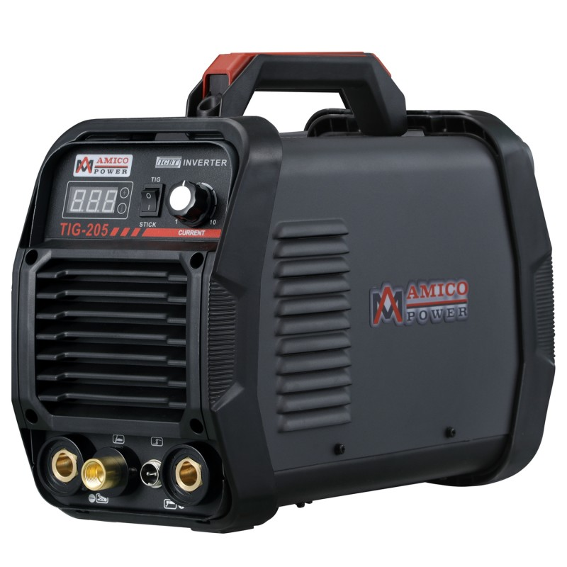 TIG-205 200 Amp High Frequency TIG Torch/Stick/Arc DC Welder 115 & 230V Dual Voltage Welding Machine