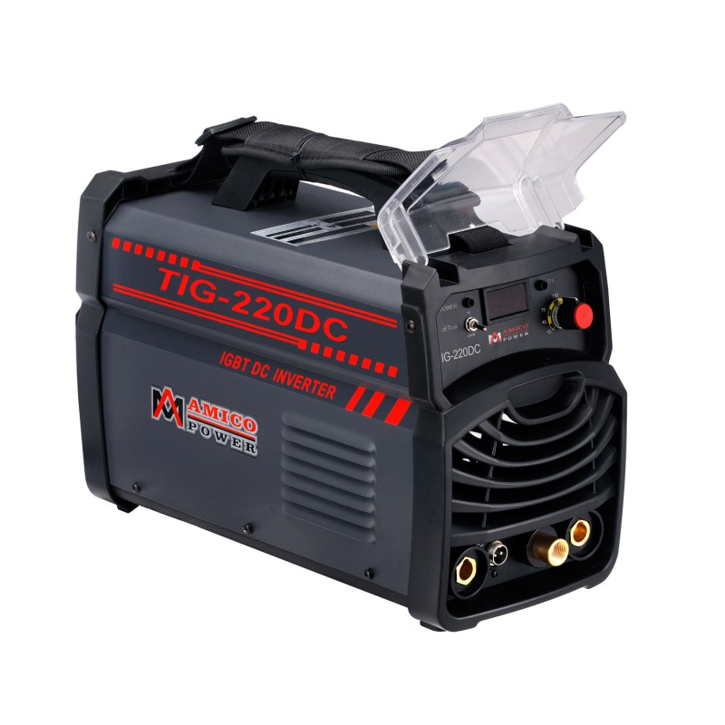 TIG-220DC 220 Amp TIG Stick Arc DC Inverter Welder 110/230V Dual Voltage Welding Soldering Machine