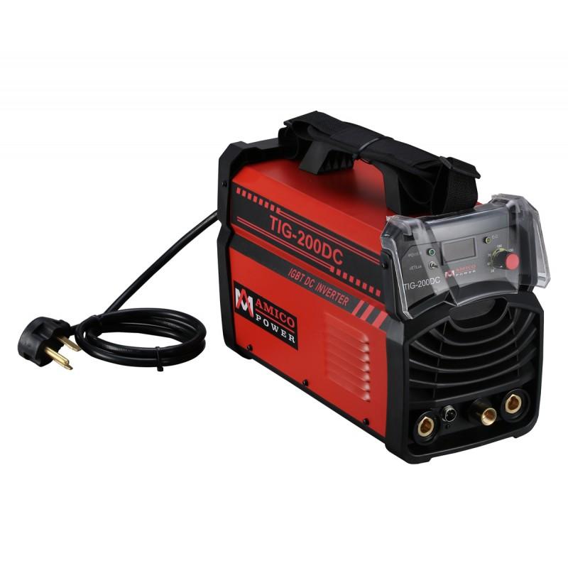 TIG-200DC 200 Amp TIG Torch Stick Arc DC Welder 115/230V Dual Voltage Inverter Welding Machine