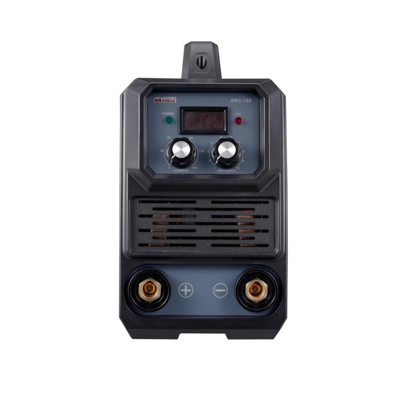 ARC-160, 160-Amp Stick Arc & Lift-TIG Combo Welder, 100-250V Wide Voltage, 80% Duty Cycle, Compatible with all Electrodes: E6010 E6011 E6013 E7014 E7018 etc.