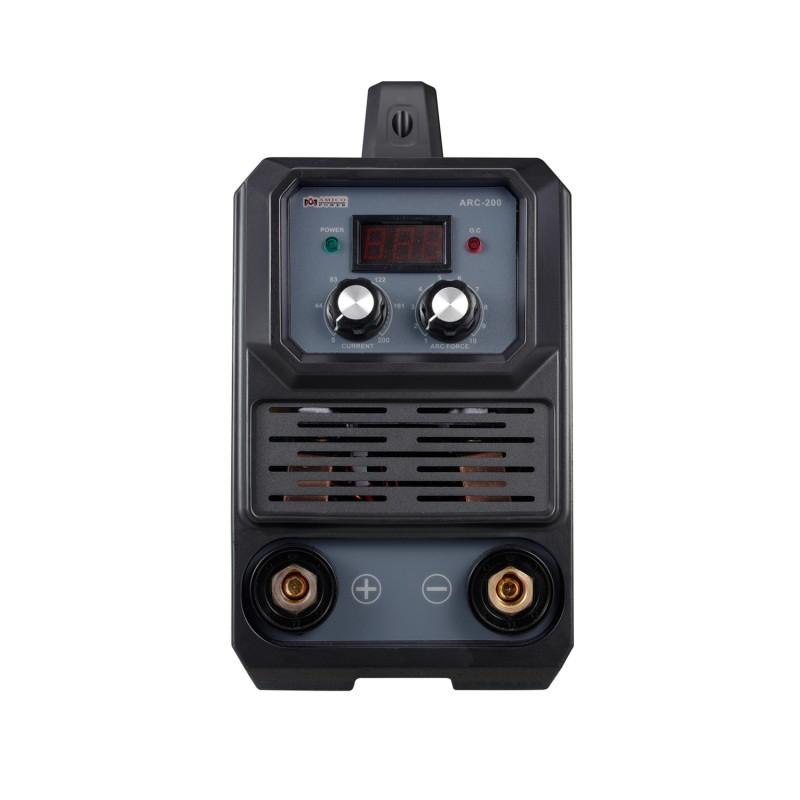 ARC-200, 200-Amp Stick Arc & Lift-TIG Combo Welder, 100-250V Wide Voltage, 80% Duty Cycle, Compatible with all Electrodes: E6010 E6011 E6013 E7014 E7018 etc.