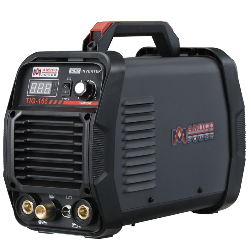TIG-165 160 Amp High Frequency TIG Torch/Stick/Arc DC Welder 115 & 230V Dual Voltage Welding Machine