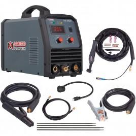 TIG-205HF, 205 Amp TIG Torch Stick Arc DC Inverter Welder, High Frequency & High Voltage 100% Start, 95~260V Wide Voltage Welding Machine.